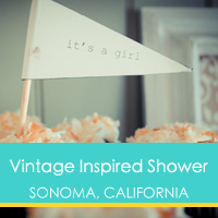 Vintage Inspired Shower